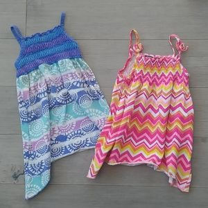 Set of 2 George Summer Dresses, Bright Colors,  2T